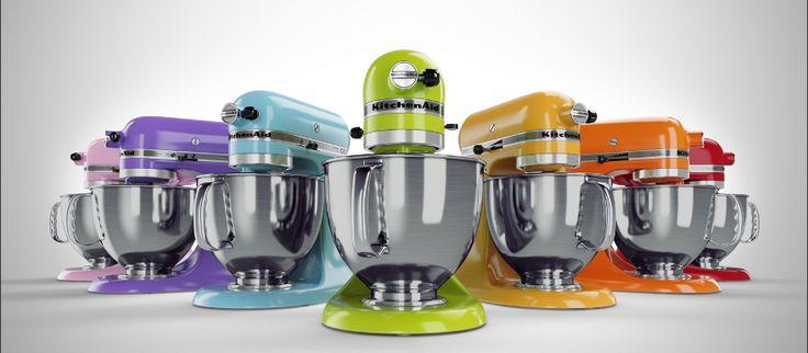 robots Kitchenaid couleur