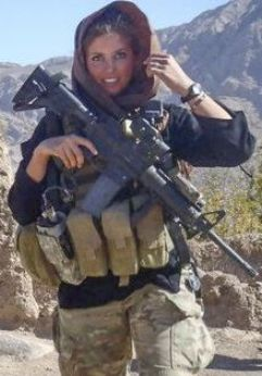 December 23, 2013, - 1:36 pm Rachel Washburn, Hero? Ex-Eagles Cheerleader Soldier Honored @ NFL Game for Pandering to Muslims, Sharia  By Debbie Schlussel
