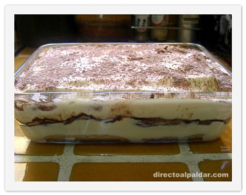 Receta Tiramisu http://www.directoalpaladar.com/postres/como-hacer-tiramisu-casero-receta