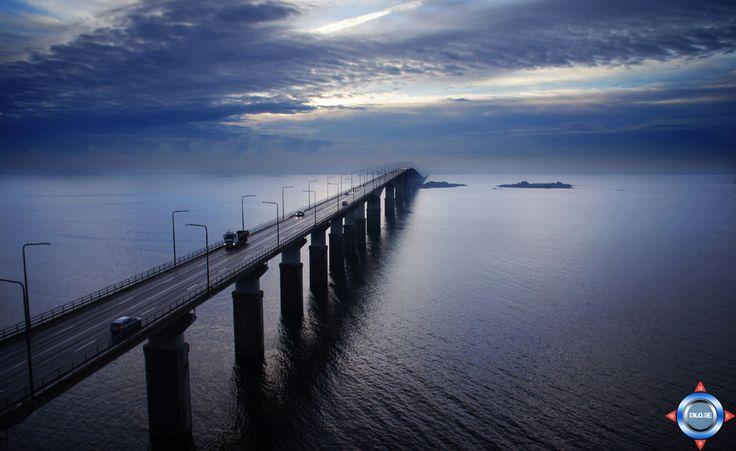 Ölands bridge, #Öland,#Oeland, #Sverige, #Sweden