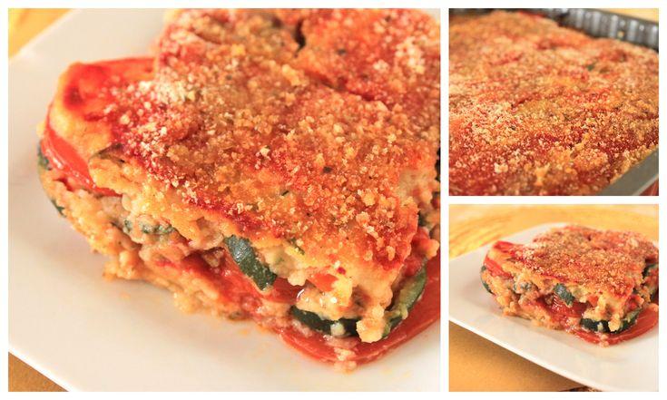 parmigiana vegana di zucchine