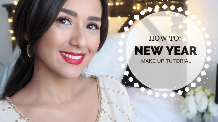 HOW TO: New Year Holiday Make Up Tutorial || Beauty
