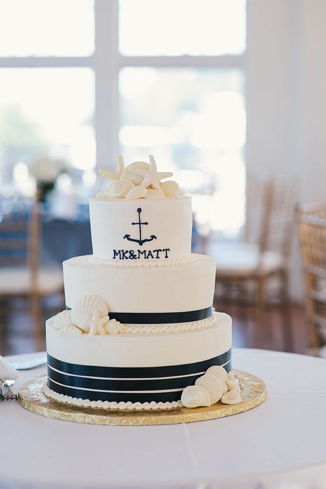 August Wedding at the Duxbury Bay Maritime School Blends Nautical Details with Navy Blue Styling | Southern New England Weddings | April K. Photography