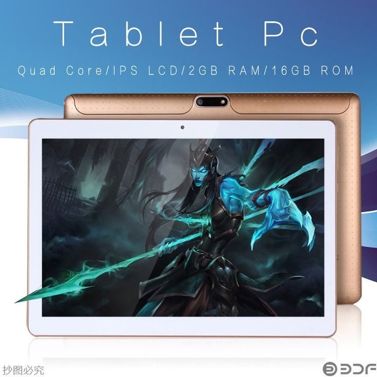 """10"""" 3G Phone Call Android 5.1 Quad Core Tablet WiFi 2G 16G  2GB 16GB"""