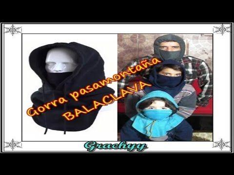 """Gorra pasamontaña Balaclava """"Peticion"""" - YouTube"""