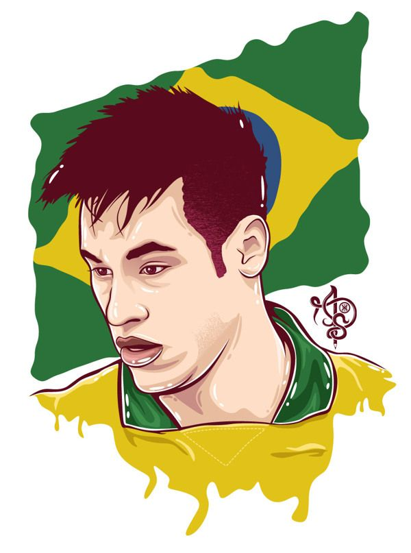 World Cup 2014 Brazil by Ariev Soeharto, via Behance