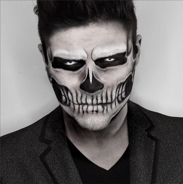 die besten 25 skelett make up ideen auf pinterest halloween skelett make up halloween. Black Bedroom Furniture Sets. Home Design Ideas