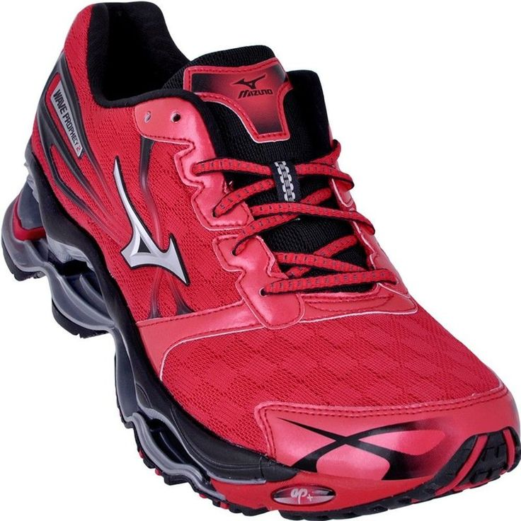 best service 2a477 7e2a1 womens mizuno wave prophecy 2 red