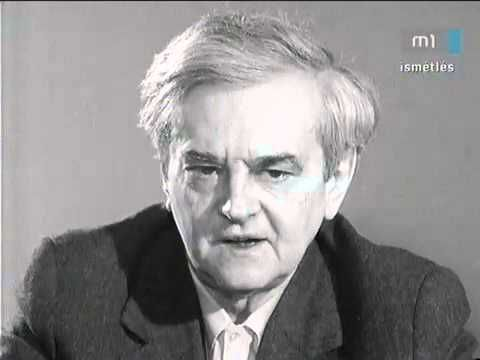 Hungarian poet Sándor Weöres talking about the post-historic human being - YouTube
