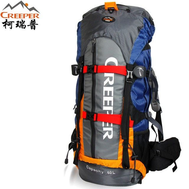 creeper backpack waterproof outdoor camping hiking bag 60L large space light weight climbing bag