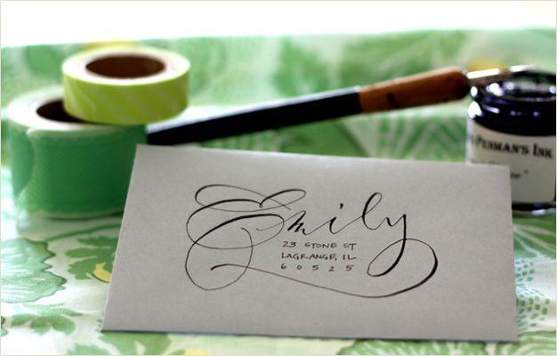 Flourish & Whim - letters