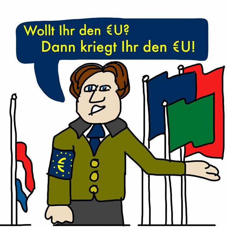 Brussel roept op tot oorlog!