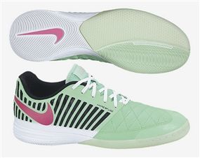 reputable site f3709 a4397 Nike FC247 Lunar Gato II Indoor Soccer Shoes (Green Glow Pink Foil)