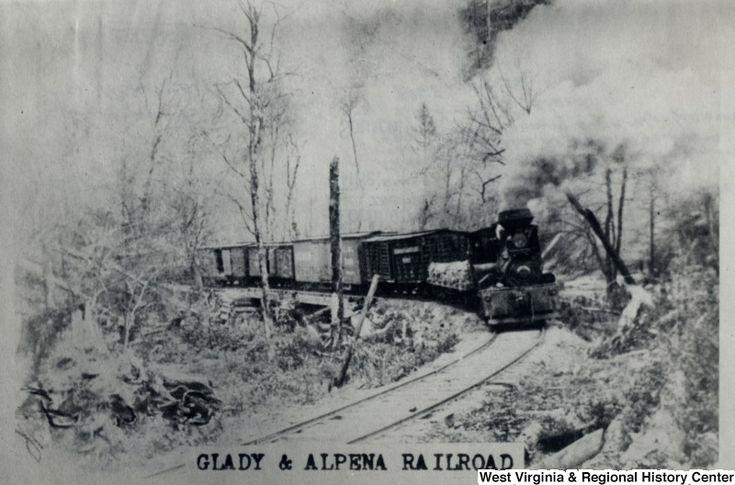 Glady alpena railroad west virginia history onview wvu