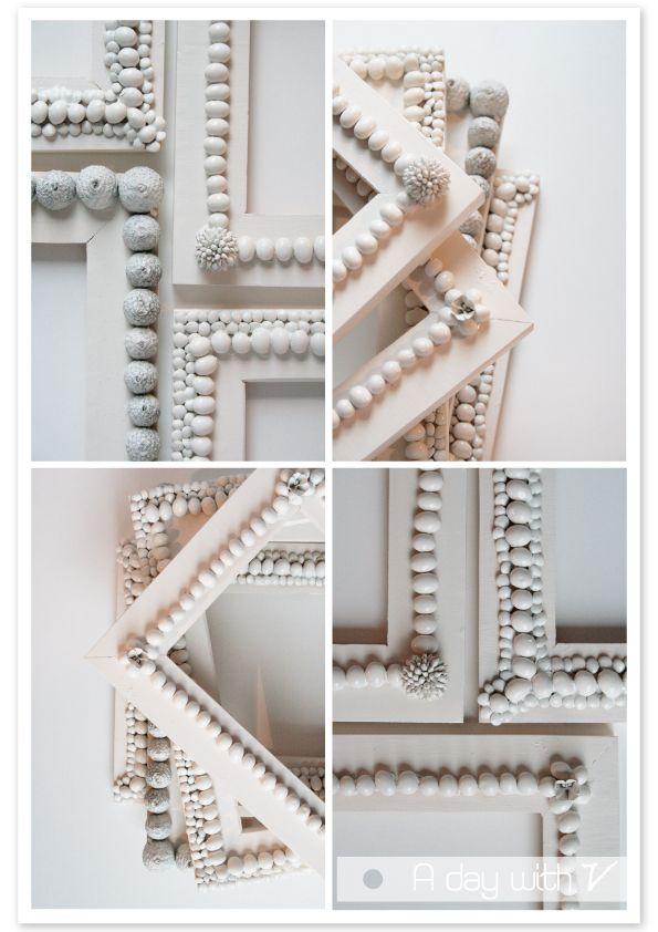 Soybean and acorn frames - spray painted | Craft | DIY | Pinterest ...