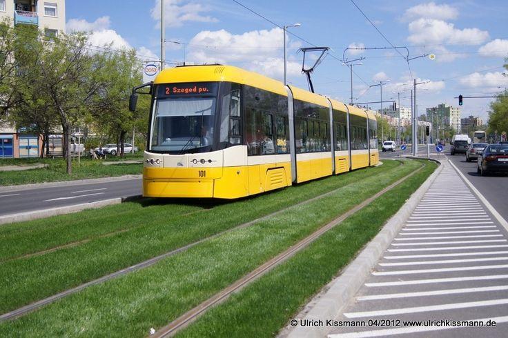 101 Szeged Rókusi viztorony 20.04.2012 - Pesa 120Nb