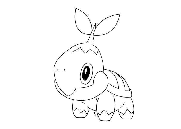 chimchar pokemon coloring pages - photo#30