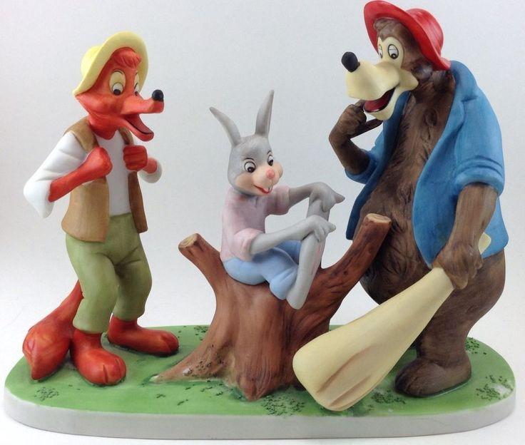 South Of The South Ceramic Porcelain Figurine Walt Disney
