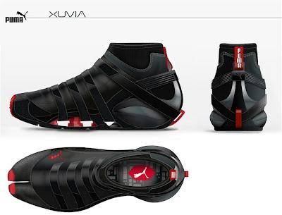 Cool parkour concept shoes...