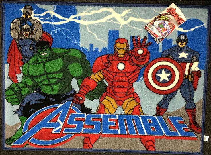 Marvel bedroom rugs