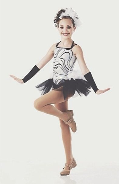 Madison Ziegler from Lifetime\u0027s hit reality TV show \u0027DanceMoms\u0027 modeling  for Cici Dancewear.