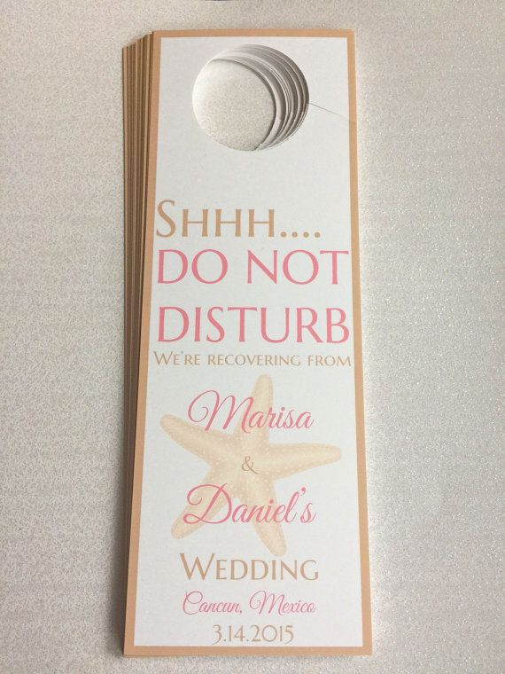 Cele mai bune 25+ de idei despre Wedding door hangers pe Pinterest - wedding door hanger template