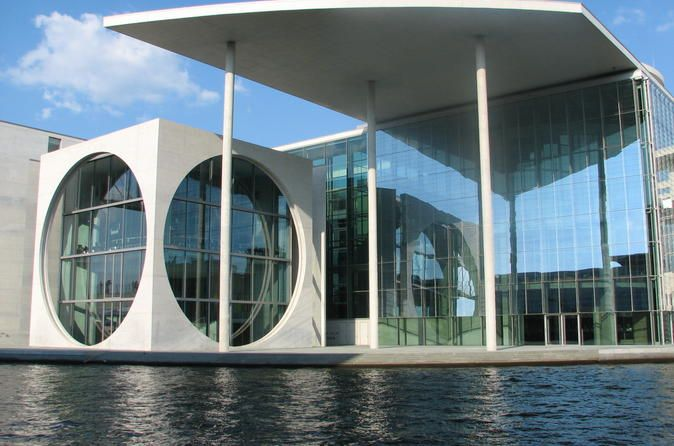 Private Tour: Berlin Architecture Tour Discover Berlin's architectural highlights with a knowledgeable private guide on this 4-hour sightseeing tour. Choose to do the tour on foot or by bike, and then explore the city, seeing the buildings, streets and squares that you want to see; the itinerary is tailored to specific requests! Admire modernist masterpieces at the Kulturforum, walk down Friedrichstrasse, learn about the architectural trio at Gendarmenmarkt, and hear how...
