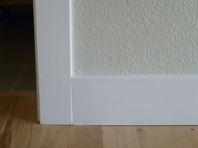 Flat Baseboard And Door Trim Many House Things Pinterest