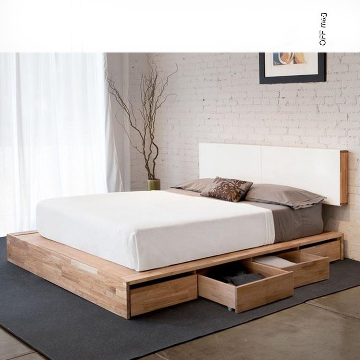 Mash studios lax bed with storage for Mash studios lax platform bed