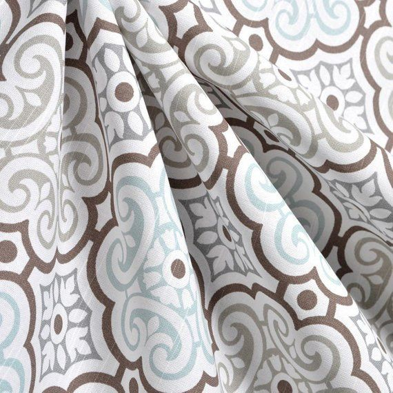 Our Gray Blue Brown Floral Table Runner Is A Great Way To