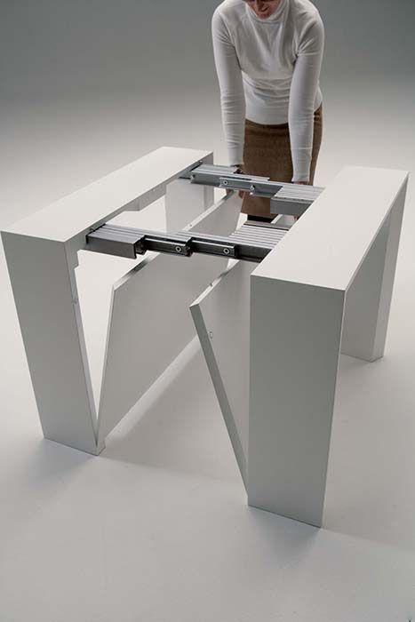 Mesa De Comedor Cuadrada Extensible Muebles Shiade - Mesas Plegables ...