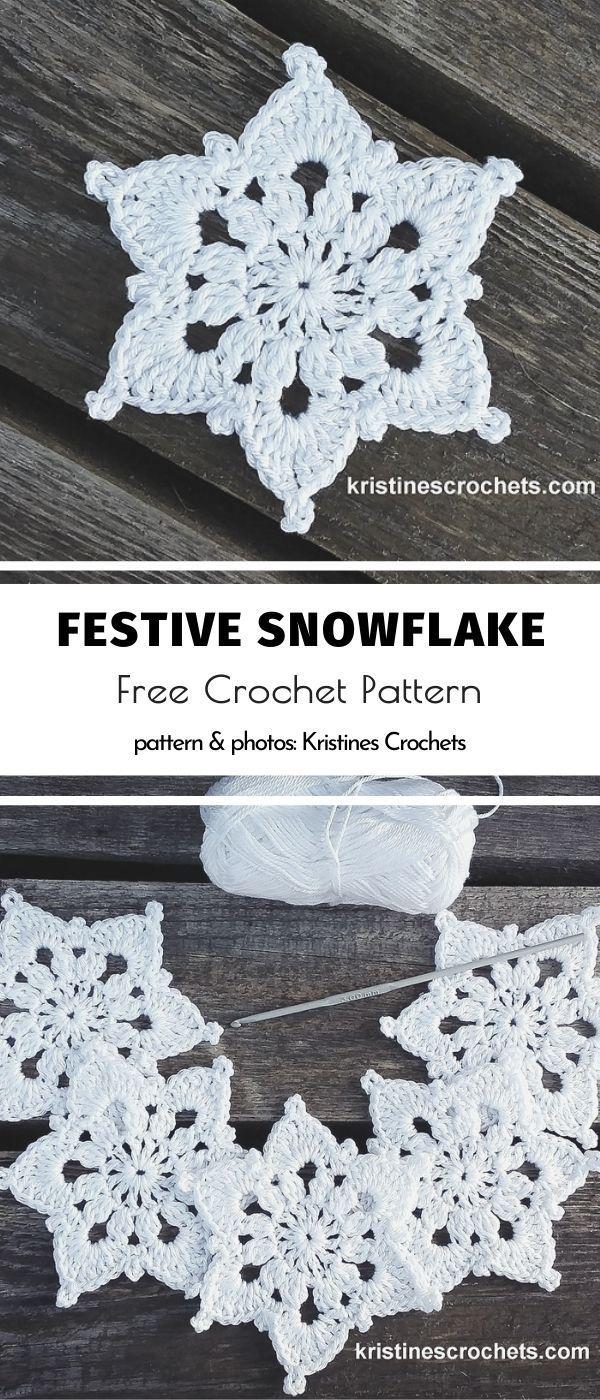 Elegant White Ornaments Crochet Snowflake Pattern Crochet Ornament Patterns Free Crochet Snowflake Patterns
