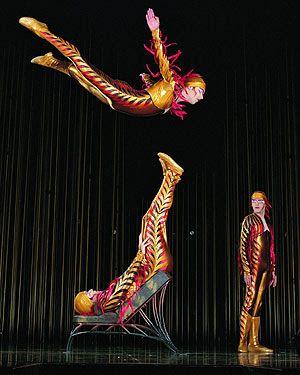 Circo+De+Soleil+No+Brasil | Cirque Du Soleil - Varekai no Brasil
