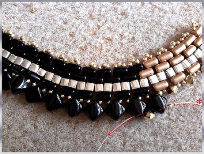 collar-oro-negro-perla de vidrio-rullas-tops-sedoso-bead-espíritu-21