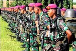 Pembangunan markas Batalyon Infantri 1 Korps Marinir Gedangan diresmikan