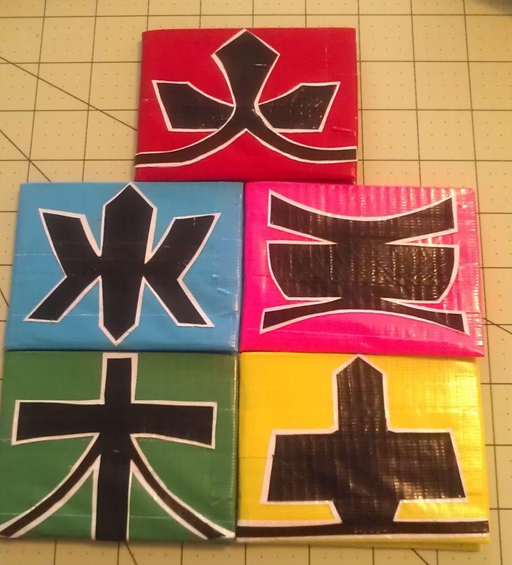 power rangers samurai mask symbols - Google Search