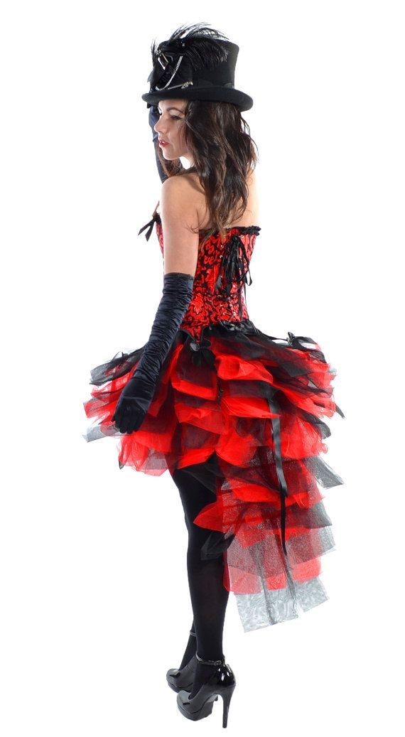 Designer Black Red Burlesque Moulin Rouge by HarleyAvenueCom