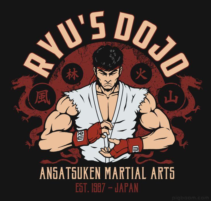 Ryu Street Fighter T-shirt
