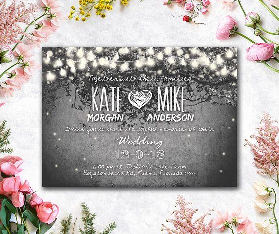 Printed Card Digital Printable Files von WeddingSundaeStudio