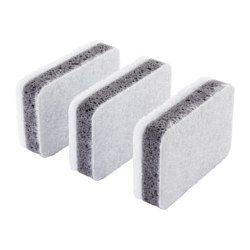 IKEA - SVAMPIG, Spons, Twee sponsjes in één - gebruik de zachte kant als afwasborstel en de grovere kant voor lastiger vlekken waarvoor een hardhandige behandeling nodig is.