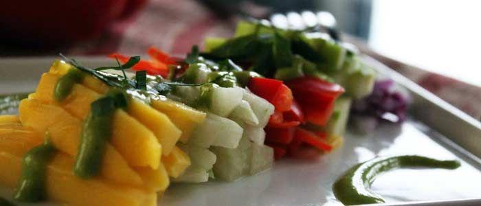 Fat & Happy: Brazilian Mango and Jicama Salad » Gozamos.com
