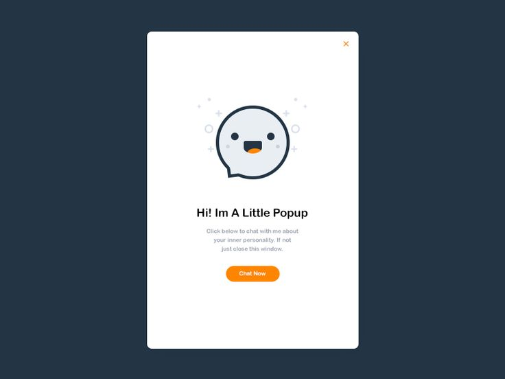 Daily UI #016 - Pop Up Overlay  Free PSD