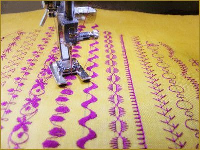 Learn About Decorative Stitches + Project « by Domestic Anarchy for  Sew,Mama,Sew! Blog