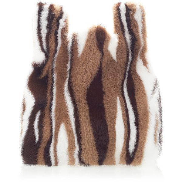 Flame Fur Tote | Moda Operandi ($1,645) ❤ liked on Polyvore featuring bags, handbags, tote bags, fur tote bag, colorful handbags, tote bag purse, fur tote and multi colored handbags