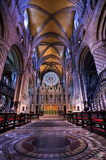 Beautiful Places...Durham Cathedral, England, photo by David Harris