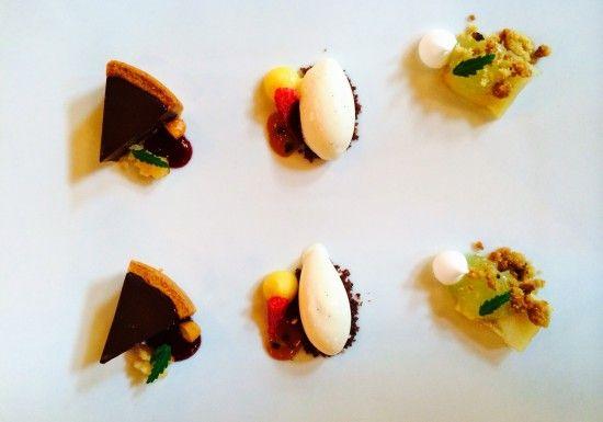 Avsmakningemeny - dessert