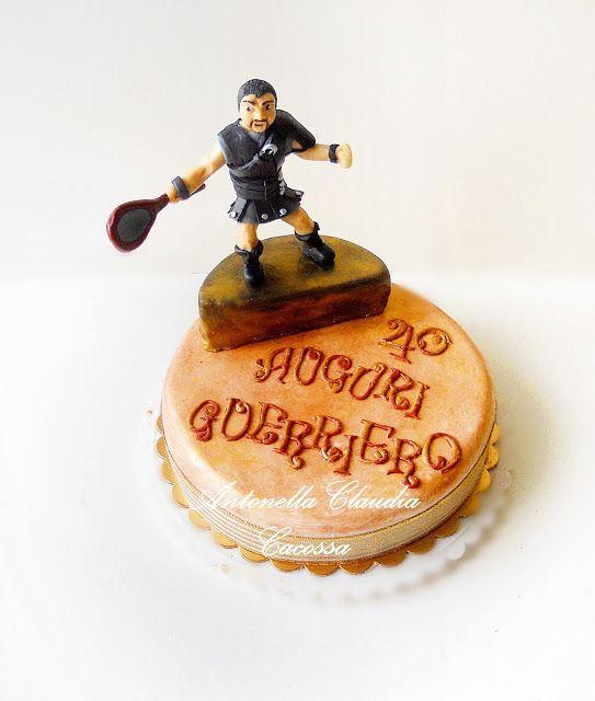 Le Torte di Antonella Cacossa e non solo...: Torta Gladiatore