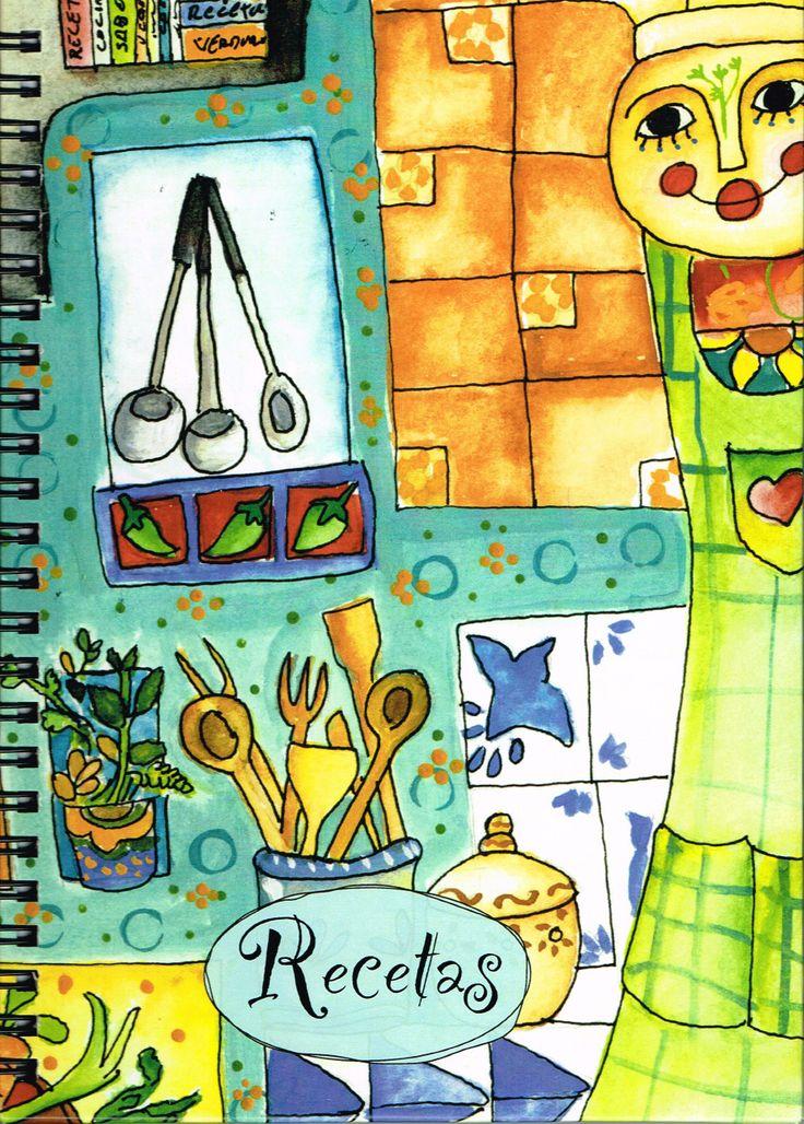 El ilustrador guatemalteco Estuardo Álvarez ha diseñado este precioso cuaderno de recetas para que apuntes todas las que tienes en la cabeza, las que has heredado de la abuela, las que tienes apuntadas en trocitos de papel.. 126 páginas delicadamente ilustradas encuadernadas en cartoné y guairo para hacerlo cómodo y resistente: https://www.veniracuento.com/content/cuaderno-de-recetas