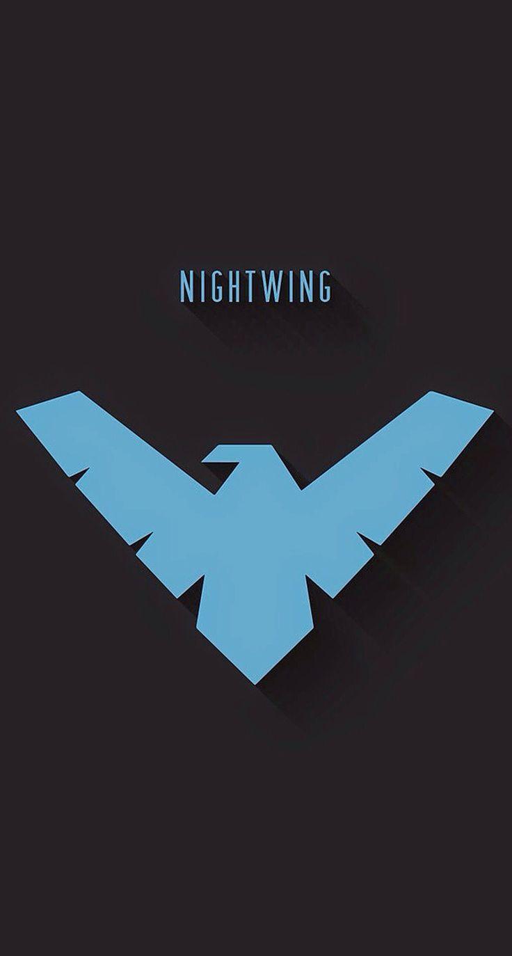 Minimalist Nightwing Insignia
