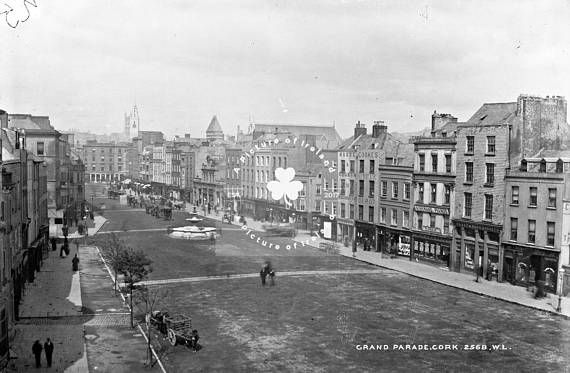 Cork Grand Parade ca. 1890 ANTIQUE Photo DOWNLOAD Instant